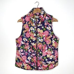 Floral vest by Peach Love California
